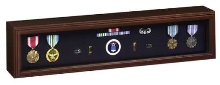 Medal Display Case to showcase Medals of Valor and Memorabilia American made