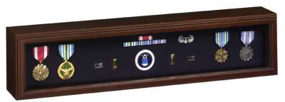 Medal Ribbon Display Case for American flag cases free shipping