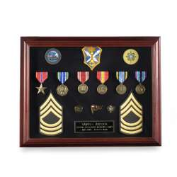 Veteran Medal Display Case Frames