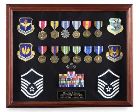 Veteran Shadowbox Frames Large