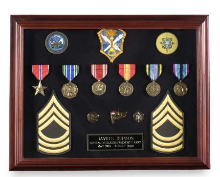 Veteran Shadowbox Frames Medium